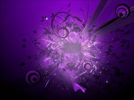Dark Purple Abstract Presentation Backgrounds