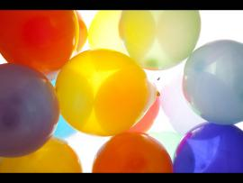 Daylight Balloons Presentation Backgrounds
