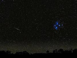 Desert Night Sky Night Sky Stars Template Backgrounds