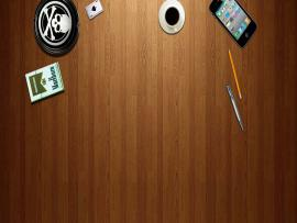 Desk Slides Backgrounds