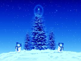 Download Free Blue Christmas Clipart Backgrounds