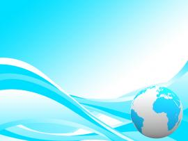 Earth Abstract Presensation For Templates PPT   Frame Backgrounds