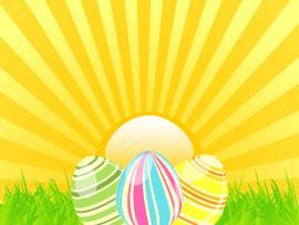 Easter Sunshine Easter Sunshine PPT Slide Freeppt Wallpaper Backgrounds