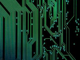 Electronic Motherboard  Art Backgrounds
