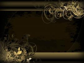 Elegant Black and Gold 2 Cool Backgrounds