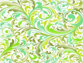 European Plant Pattern Clipart Backgrounds