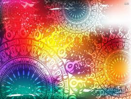 Fantastic Psychedelic Art Hd Template Backgrounds