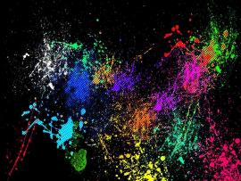 Fantastic Splatter Paint Download Backgrounds