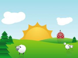 Farm Animal and Nature Photo Backgrounds