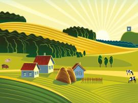 Farm Cartoon Wallpaper Backgrounds