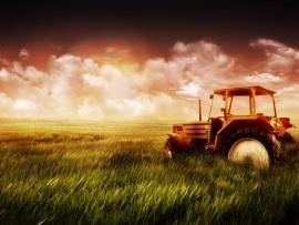 Farm Tractor image Backgrounds