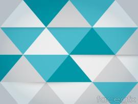 Fashion Triangle Mosaic Presentation Backgrounds