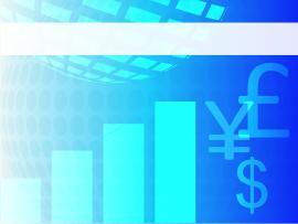 Financial Blue Chart Business Financial PPT   Art Backgrounds