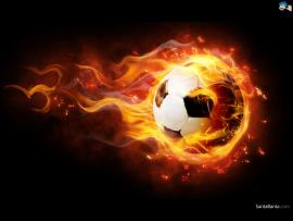 Fire Ball Football Quality Backgrounds