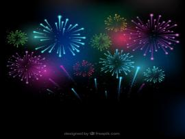 Firework Design Backgrounds