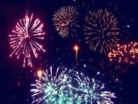 Fireworks HD Colorful Backgrounds