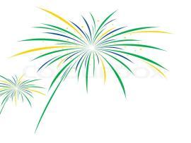 Fireworks White Vector Firework Design On White   Backgrounds