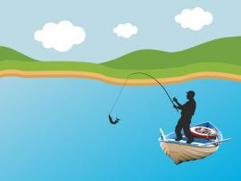 Fisherman Hunting Backgrounds