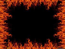 Flame Frame Clip Art Backgrounds