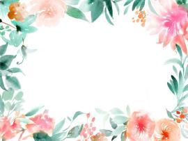 Floral Frame image Backgrounds