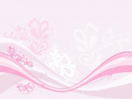 Floral Pink Image Slides Backgrounds