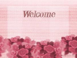 Floral Welcome Download Backgrounds