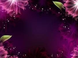 Flower Frame Template Backgrounds