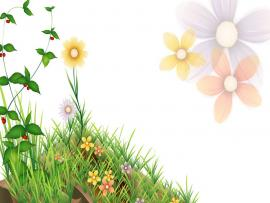 Flower Template Power Point Animated Flower   Quality Backgrounds