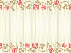 Flowers Wedding Frame Backgrounds