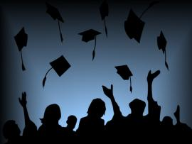 Fly Hat Graduation Backgrounds