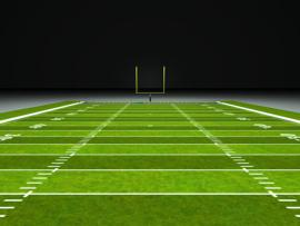 Football Field & Football   Art Backgrounds