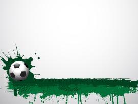 Football Grunge  Green Sports  PPT Wallpaper Backgrounds