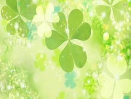 Four Leaf Clover Graphic Backgrounds