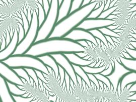 Fractal Chaos Backgrounds