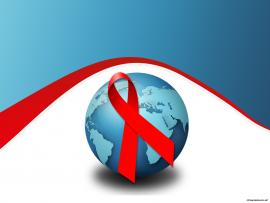 Free Aids Day For PowerPoint  Events Frame Backgrounds