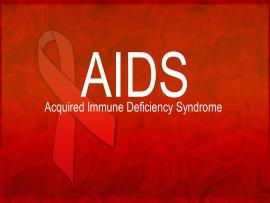 Free AIDS PowerPoint Presentation  Free PowerPoint Templates   Clip Art Backgrounds