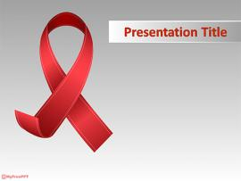 Free Aids PowerPoint Template Clipart Backgrounds