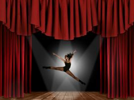 Free BALLET  Dance For PowerPoint  Sports Frame Backgrounds