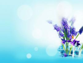 Free Flower Tulip For PowerPoint  Flower Art Backgrounds