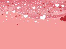Free HD Hearts Presentation Backgrounds