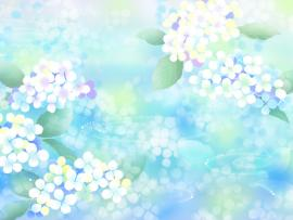 Free Pastel Flowers For PowerPoint Flower Template Backgrounds