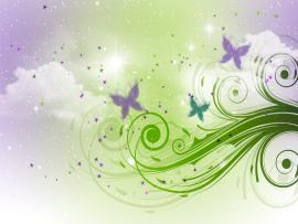 Free Sky and Butterflies For  Photo Backgrounds