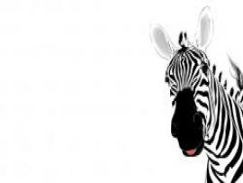 Free Zebra Animal Template For PowerPoint Animal PPT   Download Backgrounds