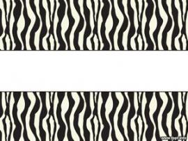 Free Zebra PowerPoint Template  POWERPOINT TEMPLATES   Design Backgrounds