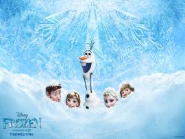 Frozen Art Backgrounds