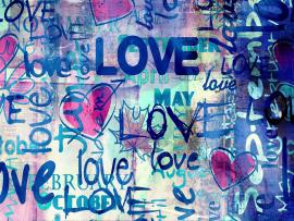 Full With Love Graffiti Image Quality Backgrounds