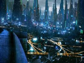 Futuristic City Picture Backgrounds