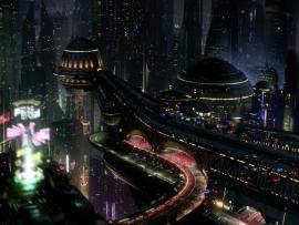 Futuristic Citys Backgrounds