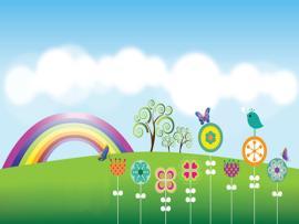 Garden Clipart Backgrounds