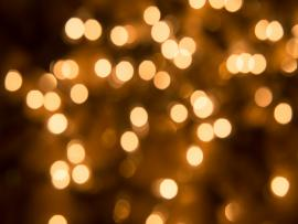 Gold Bokeh Frame Backgrounds